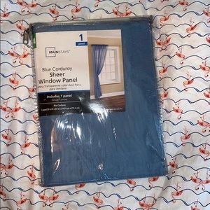 Mainstays Other - mainstays blue curtains